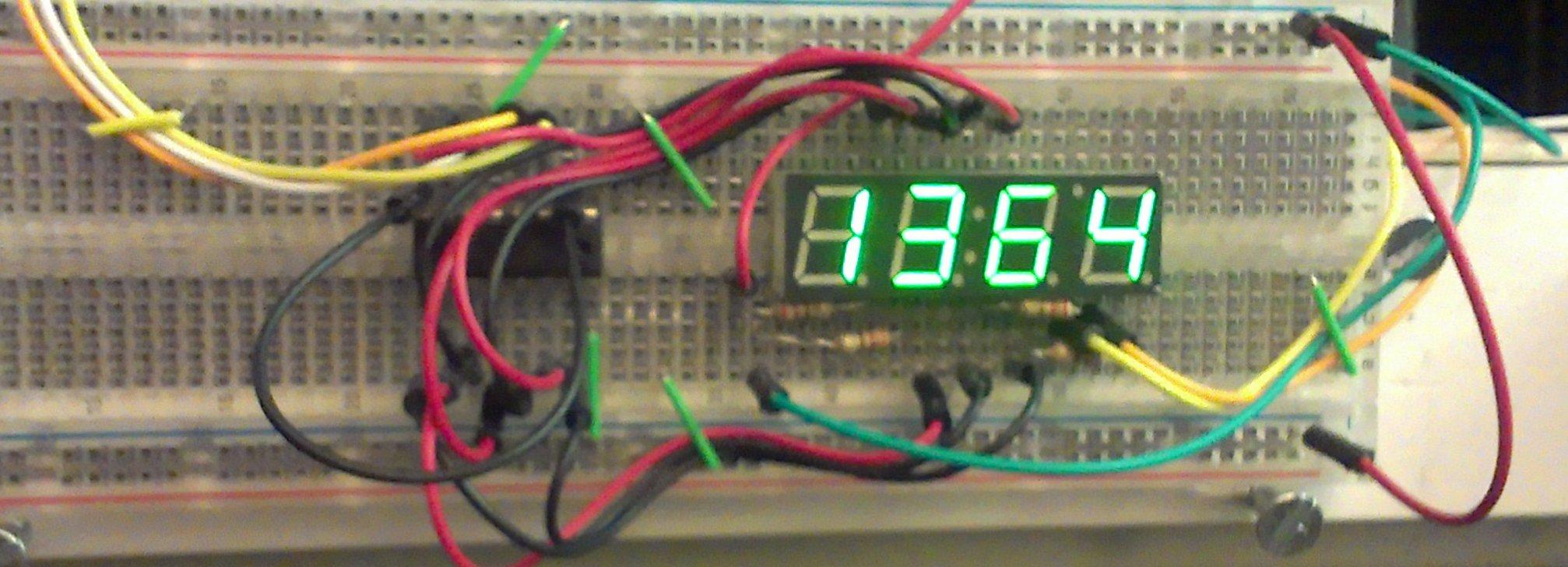 Clock Display Without Serial | Robotic Controls