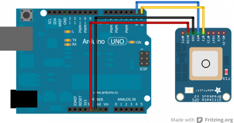 Adafruit Ultimate GPS Breakout   Robotic Controls